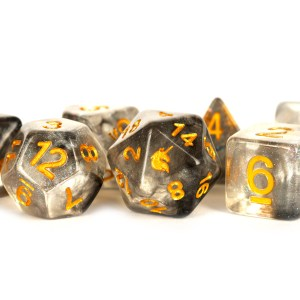 Rouge Rage 16mm Poly Dice Set