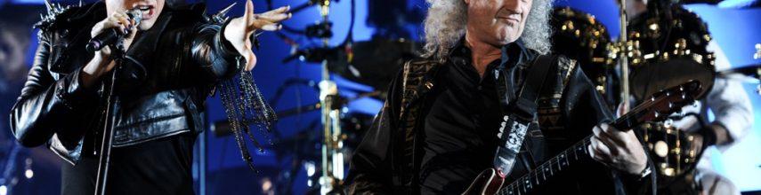 Queen & Adam Lambert Helsingin Kaisaniemeen kesäkuussa.