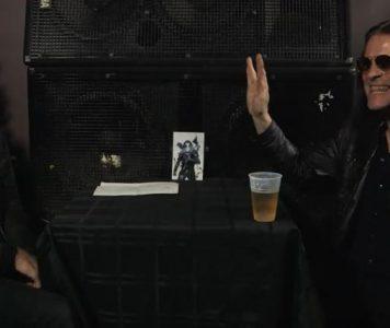 Abbath hauskuttaa metallikansaa Banger TV:n haastattelussa