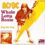 Whole Lotta Rosie single