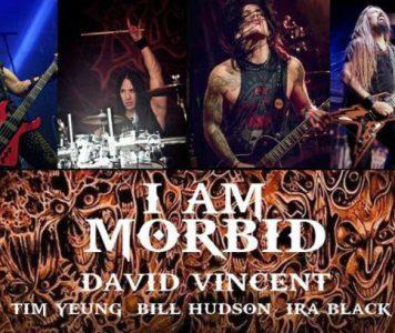 David Vincentin I Am Morbid suuntaa Euroopaan kiertueelle – Suomi ei ole mukana!