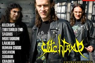 Revista Metal Live Colombia edición Abríl de 2011