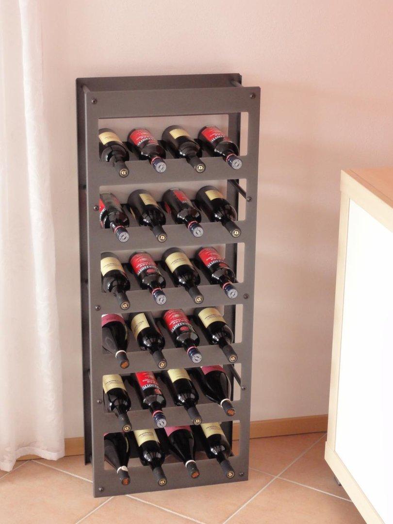 Weinregal Metall fr 24 Flaschen  Regale fr jeden Bedarf