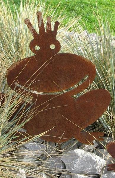 gartendeko edelrost aus metall dekoschale deko eckig ca 37cm x 37c, Gartenarbeit ideen