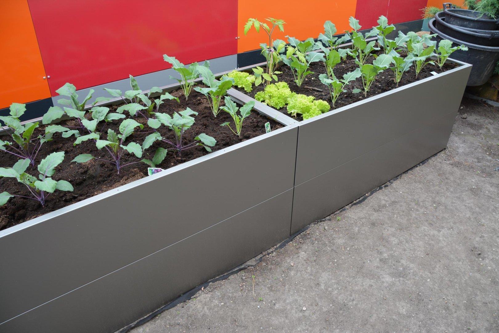 Hochbeet Urban Gardening Aus Metall