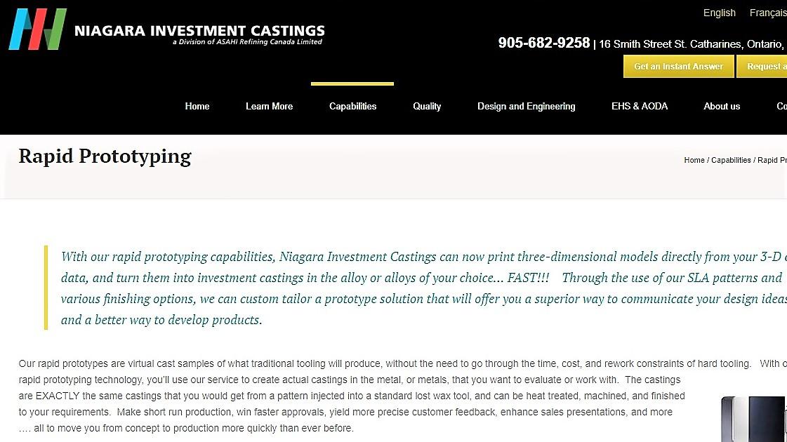 http://niagarainvestmentcastings.com/capabilities/rapid-prototyping/