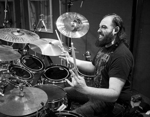 Ken Candelas on drums