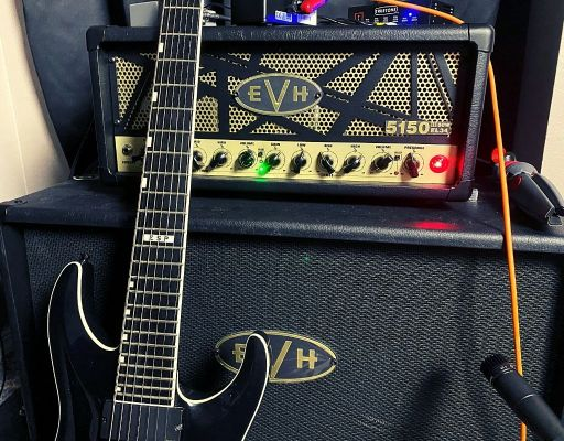 metal tone with a real amp