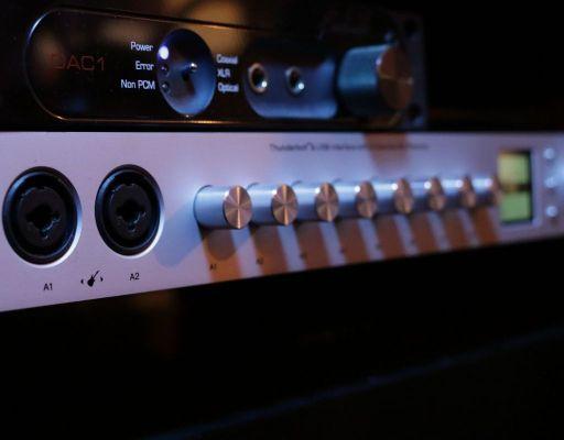 studio interface and hardware