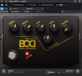 Plugins for Bass - TSE Audio BOD