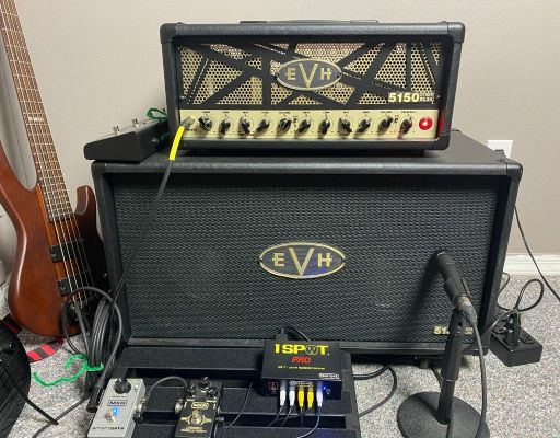 EVH 5153 tube amp EL34 50 watt head with 2x12 cabinet