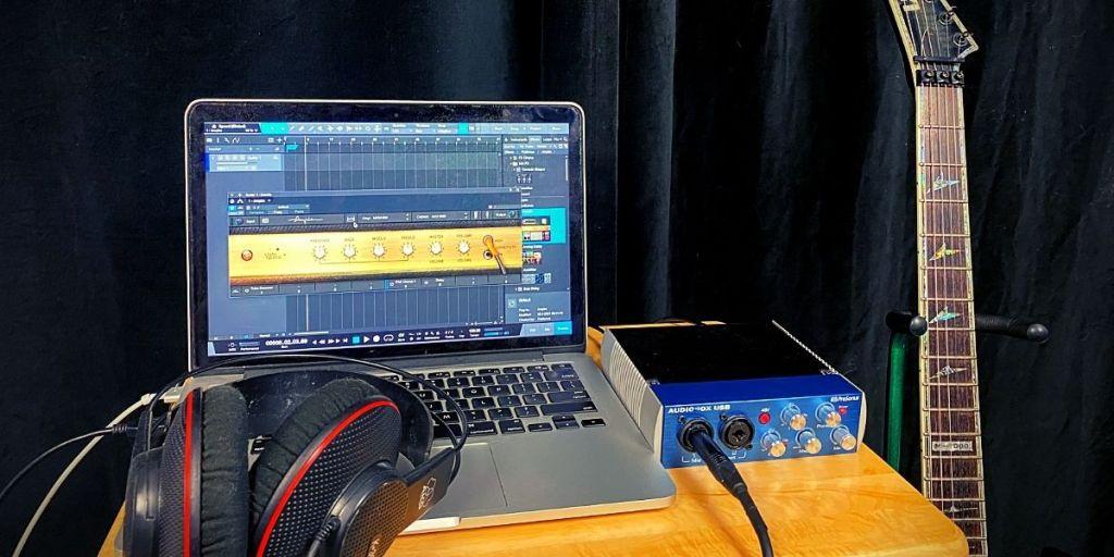 beginners home recording studio for guitarists
