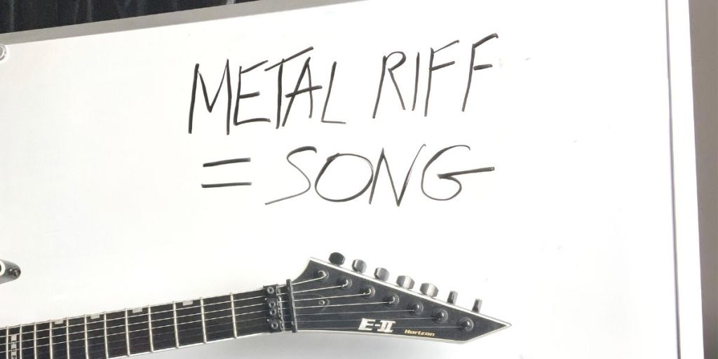 how to turn metal riffs into songs