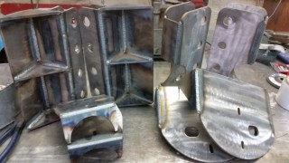 parallel 4 link and air bag bracket kit