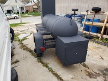 Trailer smoker build