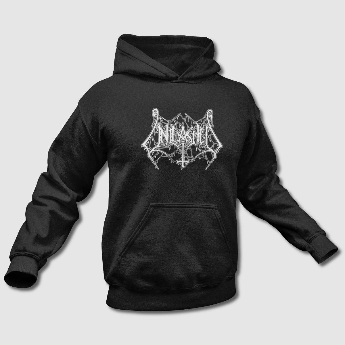 Unleashed Hoodie, Unleashed Logo Kapuzenpullover