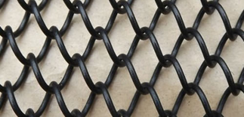 Chain Link Mesh Spark Mesh Fireplace Mesh Curtains