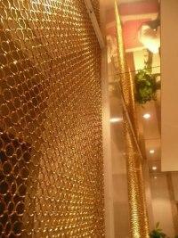 Decorative Metal Ring Mesh - Stainless Steel Ring Mesh ...