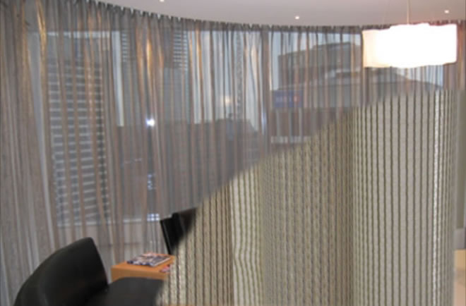 stainless steel mesh chain curtains