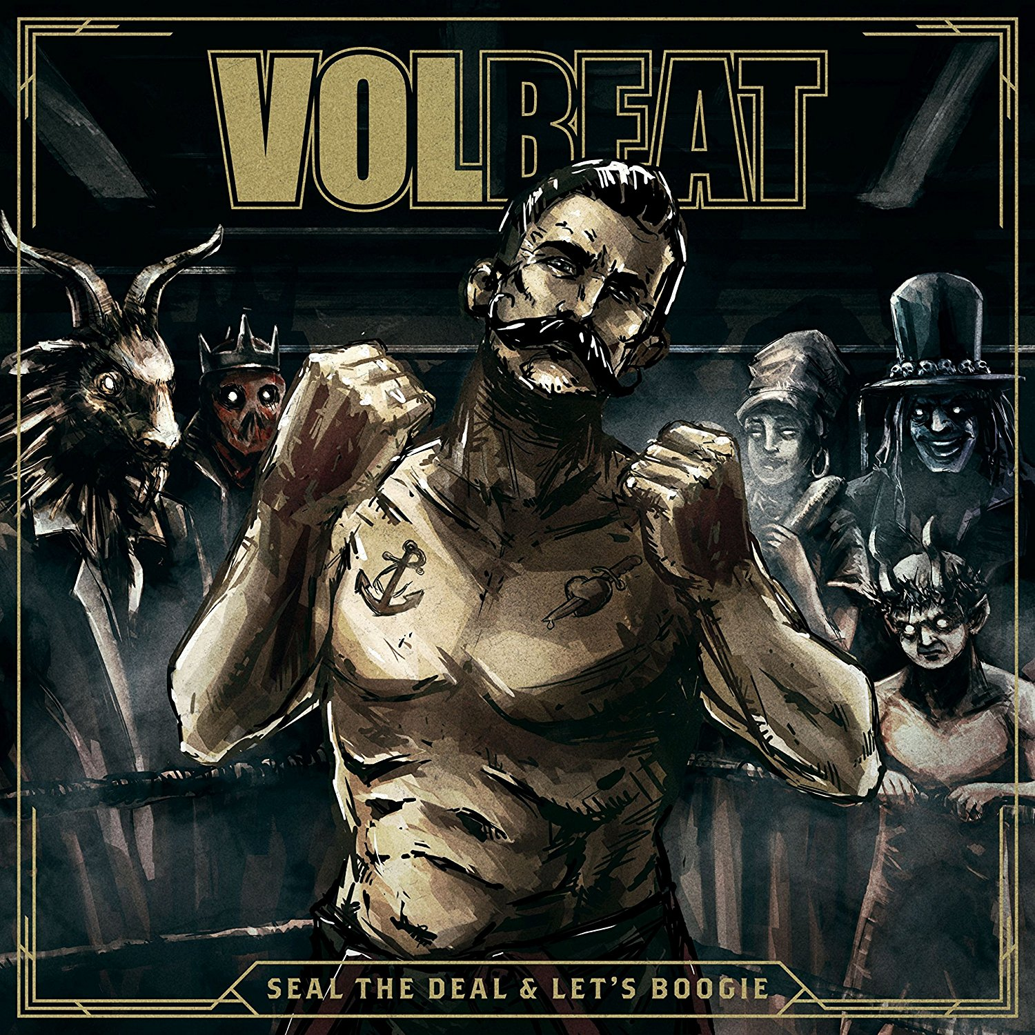 Volbeat Seal The Deal & Lets Boogie