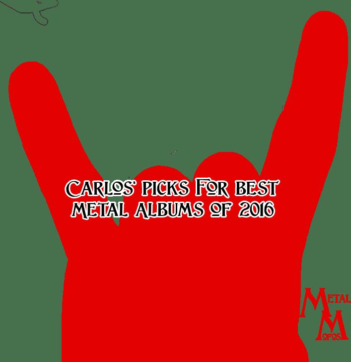 Best Metal Albums Of 2016 By Carlos
