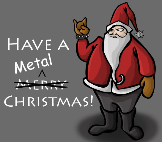 heavy metal christmas songs 25 days of christmas metal countdown day 25 - Heavy Metal Christmas