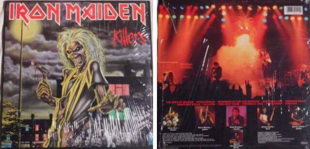 Iron Maiden – Killers: Must Own Heavy Metal/Hard Rock Albums