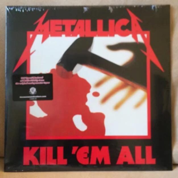 Metallica-Kill Em' All : Must Own Heavy Metal/Hard Rock Albums