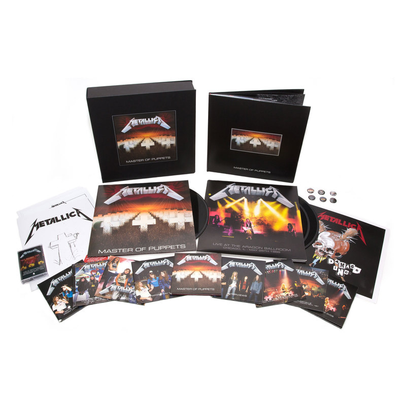 Master Of Puppets Box Set To Be Released November 10th