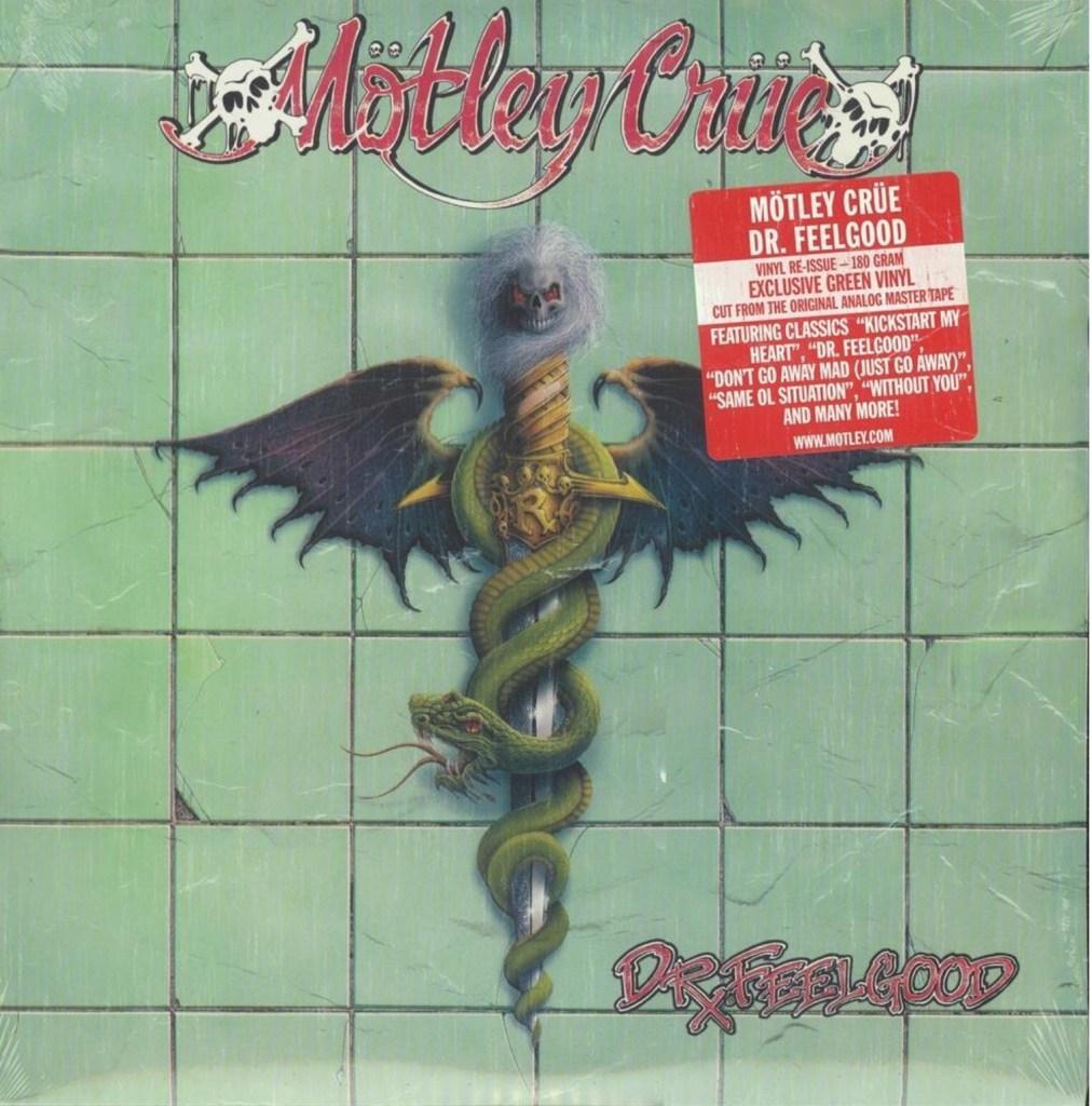 Motley Crue – Dr Feelgood : Must Own Heavy Metal/Hard Rock Albums