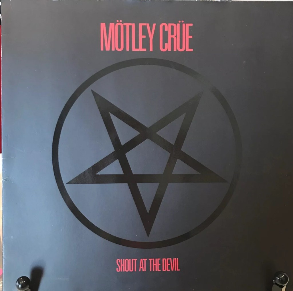 Motley Crue – Shout At The Devil : Must Own Heavy Metal/Hard Rock Albums