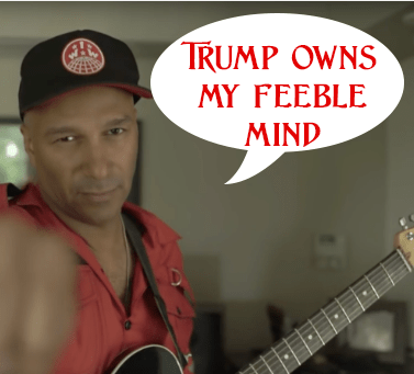 "Alt-Rap & Sloppy Guitarist Tom Morello aka ""Comrade Morello"" Displays The Deep Stupidity Of The Cultural Marxists"