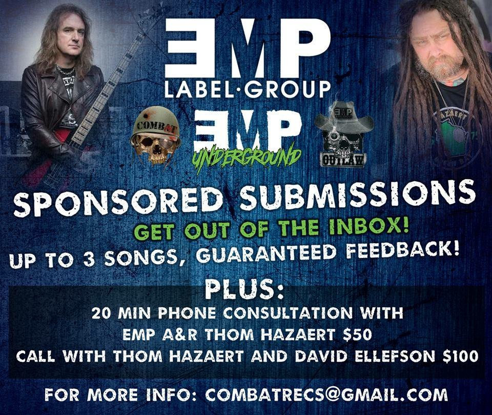 In a Band? Submit Your Demo to EMP Label Group Fast!