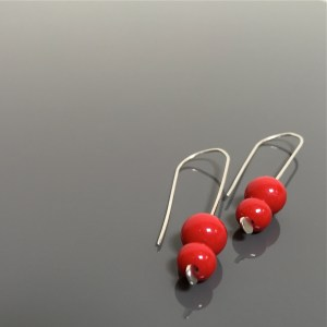 REALLY RED earring