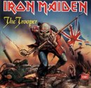 "Iron Maiden ""The Trooper""  EP album artwork"