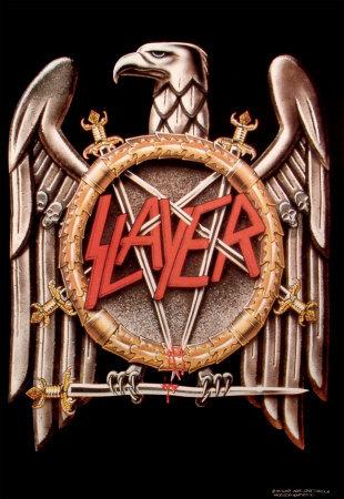 Slayer large eagle logo