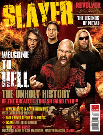 The Book of Slayer - Revolver Magazine - large pic 2009