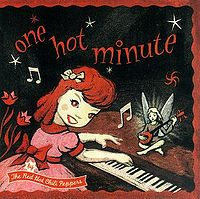 "The Red Hot Chili Peppers ""one hot minute"" large album pic"