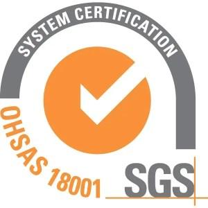 sgs system cert. ohsas 18001 01