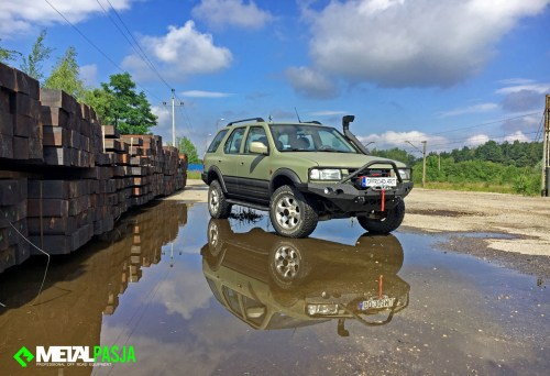 Opel Frontera – modyfikacja off road