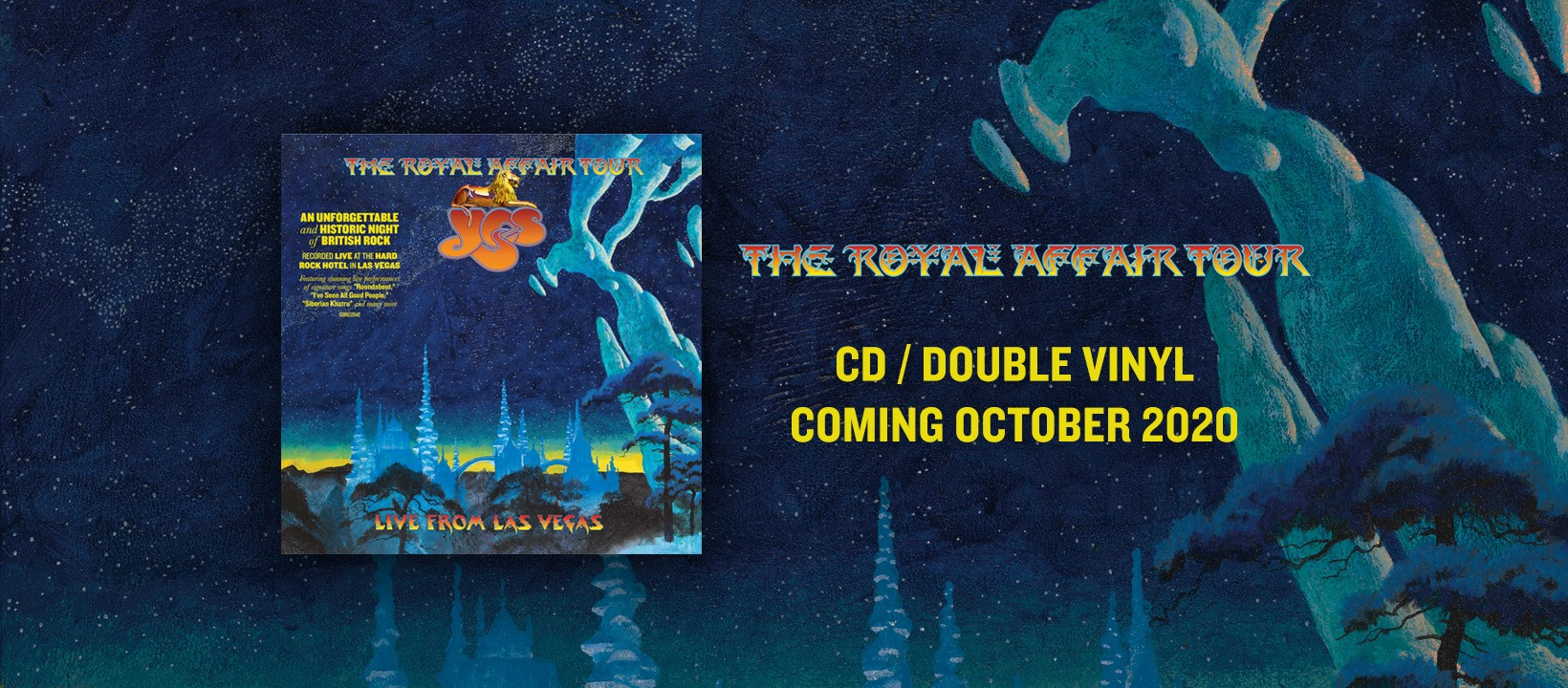YES Release IMAGINE today (2/10) from The Royal Affair Tour Live In Las Vegas album – Metal Planet Music