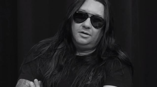 Eric Peterson guitarist with Testament and Dragonlord