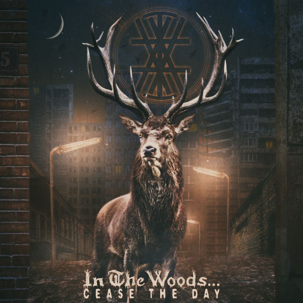 In the Woods...Cease The Day Album Cover - psychedelic black metal