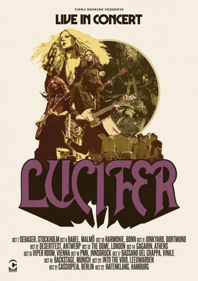 Lucifer Tour Poster