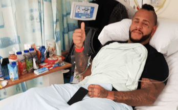 tommy vext hospital uk 2018 oct 4th