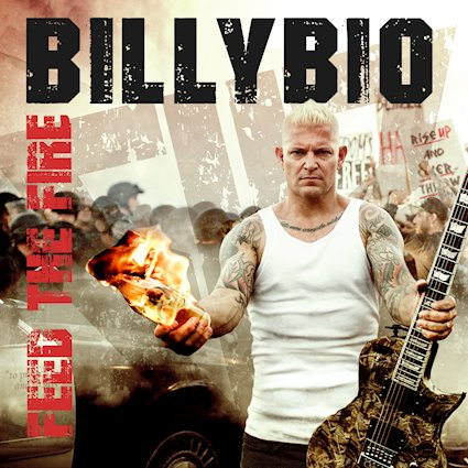 Billybio Feed the Fire album cover