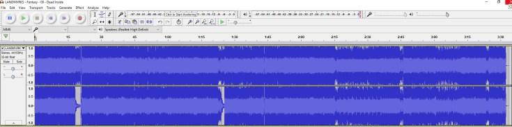 LANMVRKS Audio file of Dead Inside