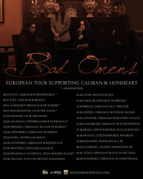 Bad Omens Tour