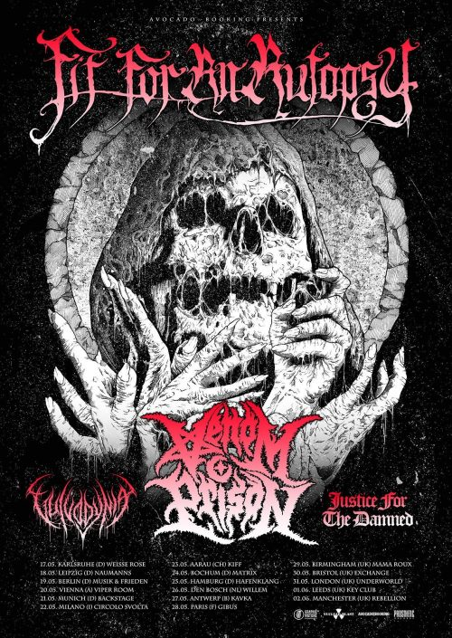 Fit for an Autopsy tour