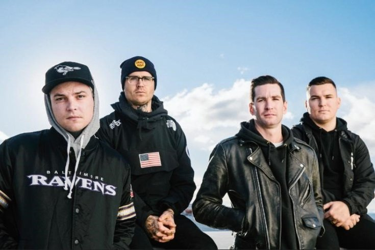 The Amity Affliction band photo